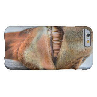 Funny Friendly Horse Muzzle and Teeth Barely There iPhone 6 Case