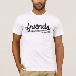 Funny friends group t-shirt