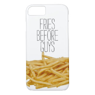 Funny fries before guys hipster humour girly girl iPhone 8/7 case