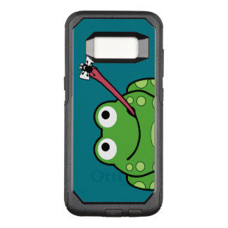 Funny Frog and Fly OtterBox Commuter Samsung Galaxy S8 Case