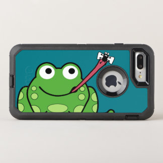 Funny Frog and Fly OtterBox Defender iPhone 8 Plus/7 Plus Case