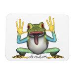 Funny Frog Premium Magnet
