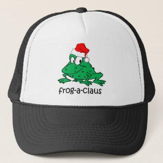 funny frog trucker hat