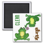 Funny Frogs - Customisable Dishwasher Magnet