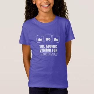Funny fun T-shirt. Science. Atomic of symbol T-Shirt
