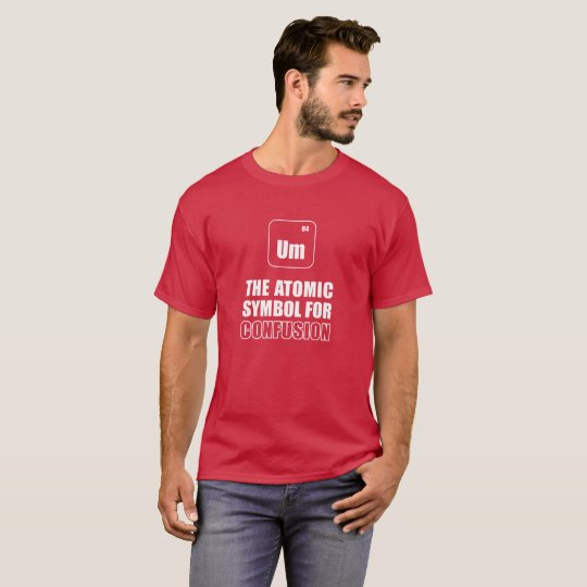 Funny fun T-shirt. Science. Atomic of symbol T-Shirt