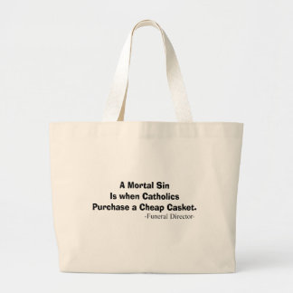 Funny Funeral Director Gifts Tote Bags