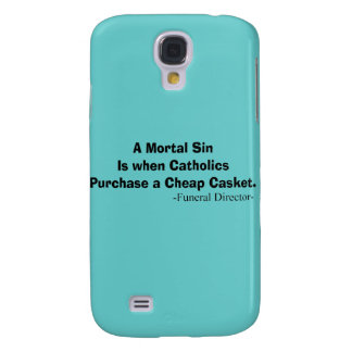 Funny Funeral Director Gifts Galaxy S4 Case