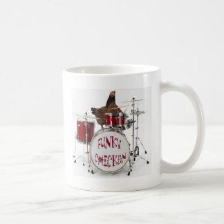 Funny Funky chicken Coffee Mugs