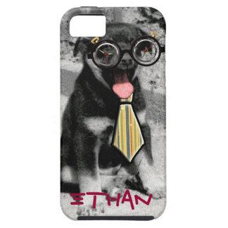 Funny funky unique doggie Einstein iPhone 5 Case