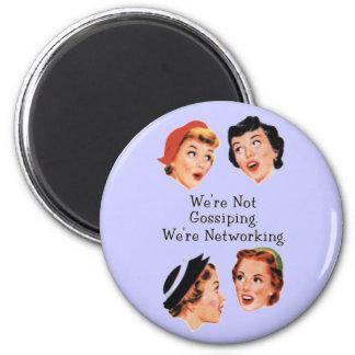 Funny Funny Ladies 6 Cm Round Magnet