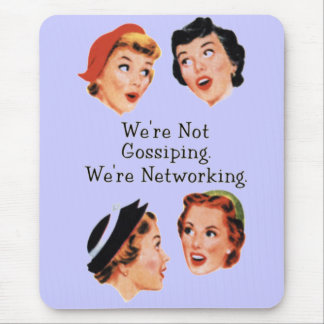 Funny Funny Ladies Mouse Mat