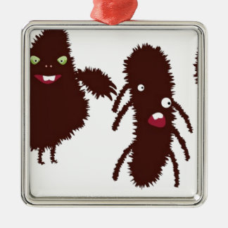 Funny furry characters ornament