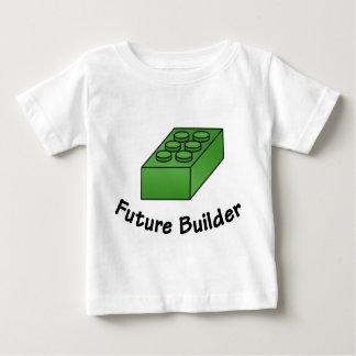 Funny Future Builder - Block Illustrations Tee Shirt