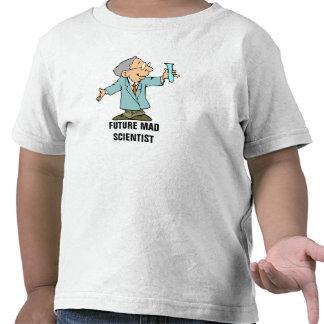 Funny Future Mad Scientist Chemist Cartoon Shirt