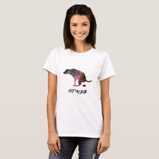 Funny Galaxy Dog T-Shirt