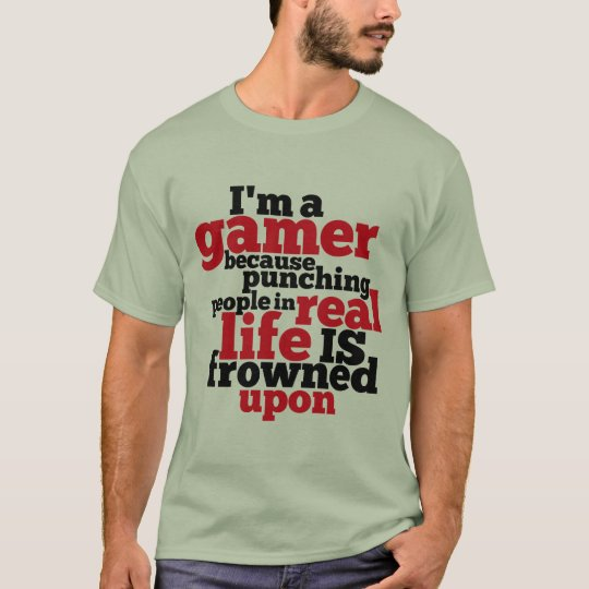Funny Gamers T-shirt for Video Games Geeks