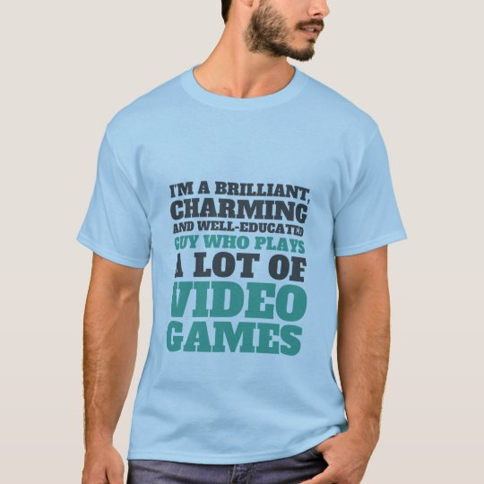 Funny Gaming T-shirt for Geeks and Gamers
