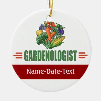 Funny Gardener Christmas Ornament