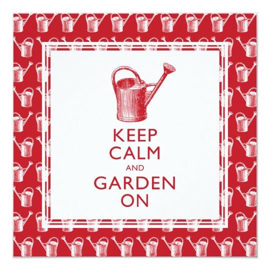 Funny Gardener's Retirement Party Invitations