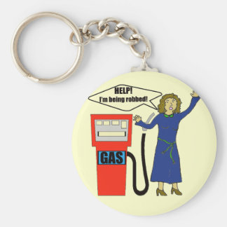 Funny Gas Prices T-shirts Gifts Key Chain