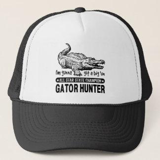 Funny Gator Hunter - Gunna Git a Big 'un Trucker Hat