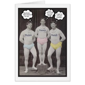 Funny Gay Birthday Card