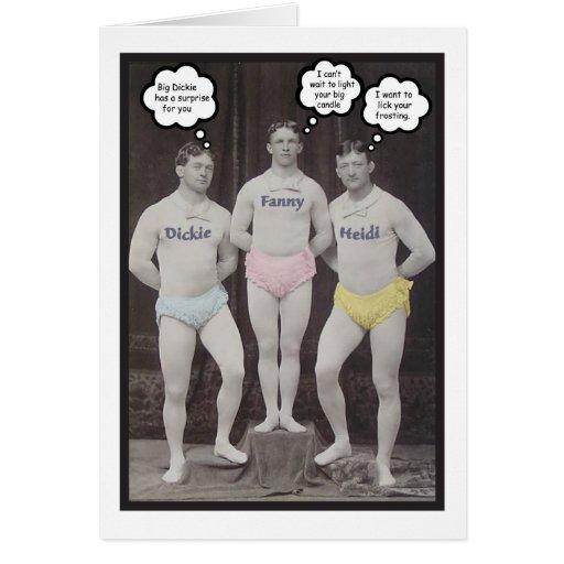 Funny Gay Birthday Greeting Cards