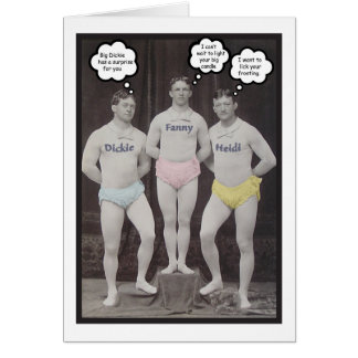 Funny Gay Birthday Greeting Cards