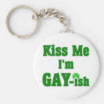 Funny Gay St. Patrick's Day Gift Keychain