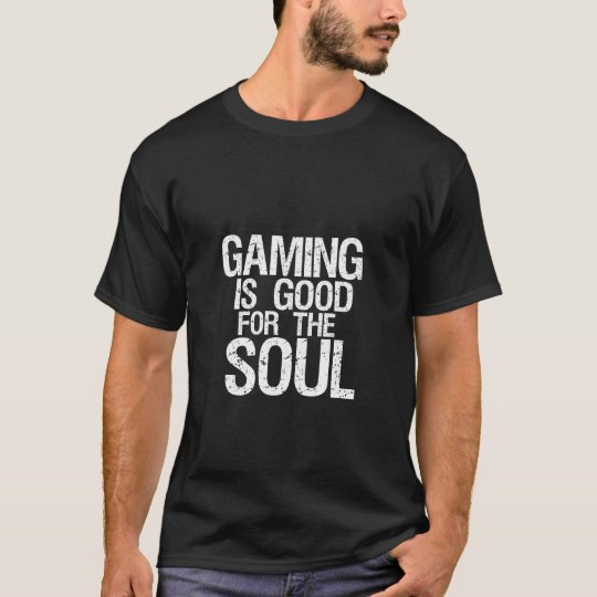 Funny Geek Humour Dark T-shirt for Gamers