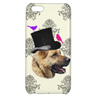 Funny German shepherd dog iPhone 5C Cover