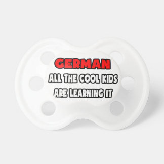 Funny German Teacher Shirts and Gifts Pacifier