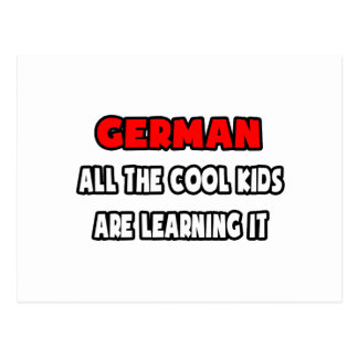Funny German Teacher Shirts and Gifts Postcards