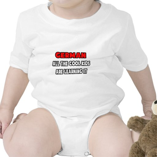 Funny German Teacher Shirts and Gifts Baby Creeper