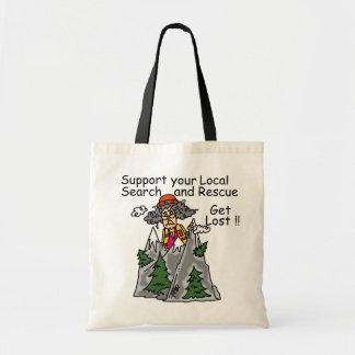 Funny Get Lost Canvas Bag