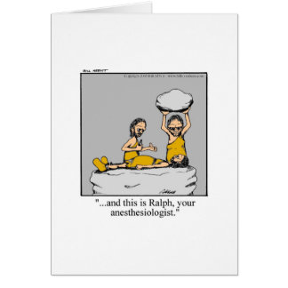 Funny Get Well Card! Greeting Card