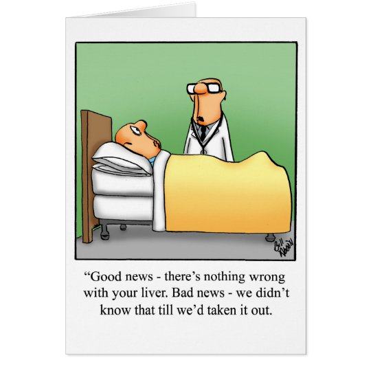 """Funny Get Well Card """"Pandemonium"""" Style"""