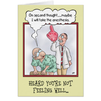 Funny Get Well Cards: On Second Thought Card