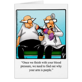 Funny Get Well Humor Greeting Card