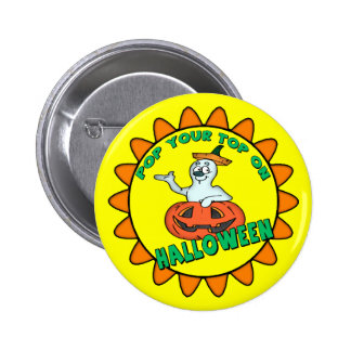Funny Ghost Buttons