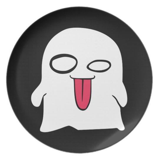 Funny Ghost Halloween Kid's Plate
