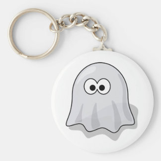 Funny Ghost Key Ring