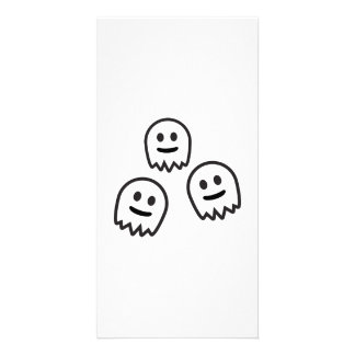 Funny Ghosts Monster Photo Card