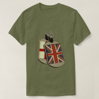 Funny Giant English Dog Tags T-Shirt