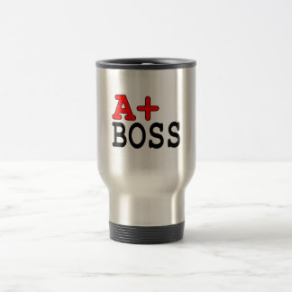 Funny Gifts for Bosses A+ Boss Coffee Mug