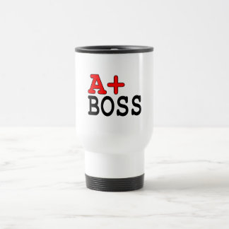 Funny Gifts for Bosses : A+ Boss Coffee Mug