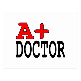 Funny Gifts for Doctors : A+ Doctor Postcards