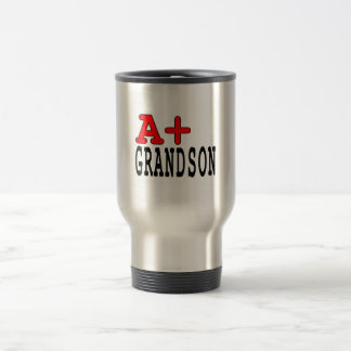 Funny Gifts for Grandsons A+ Grandson Coffee Mugs