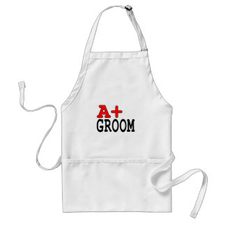 Funny Gifts for Grooms : A+ Groom Standard Apron